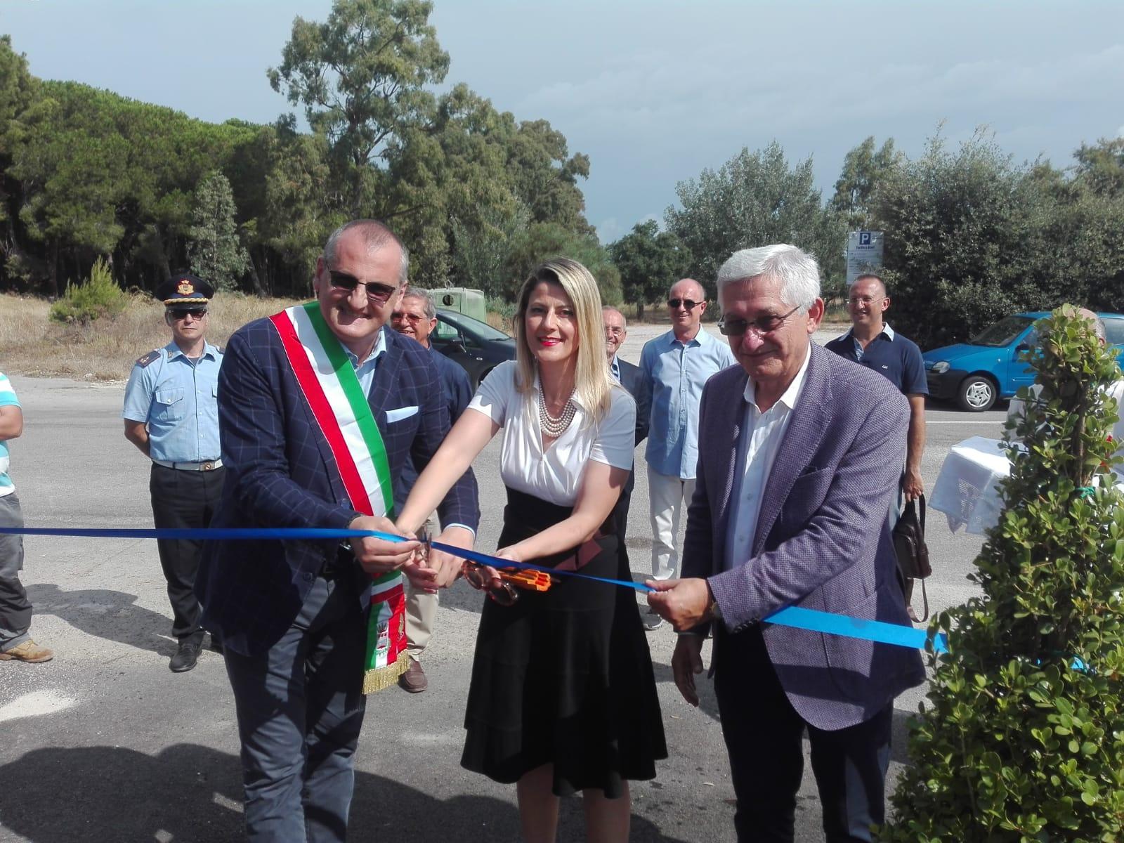 inaugurazione parcheggio campolongo